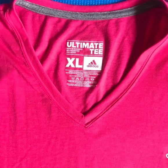 Adidas XL Pink T-Shirt